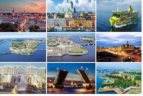 Tallin-Helsinki-St.Peterburg